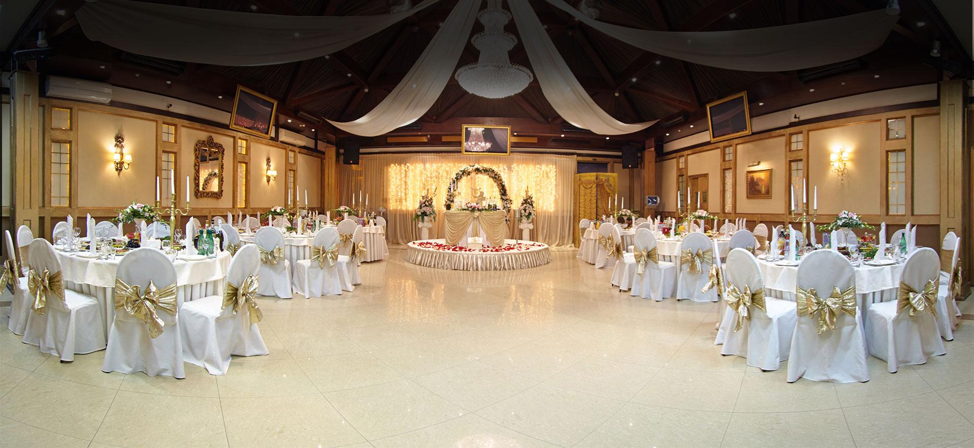 Кафе и банкетные залы для свадеб
